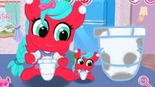 Необычная КУХНЯ для пони. Карманная пони - мультик игра для детей