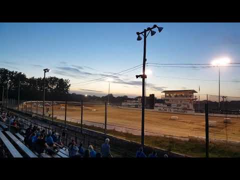 Dirt track racing at Dallas County Fairgrounds