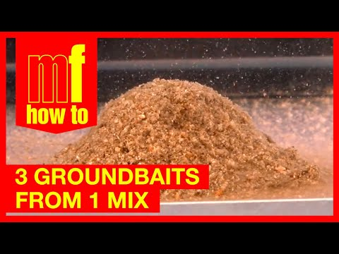 One Groundbait - Three Mixes - Fishing Tips