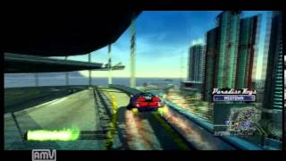 Burnout Paradise Flat Spin ~2452 Degrees