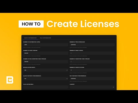 How to Create Licenses for your Music with Tips + Tricks - 2020 Update