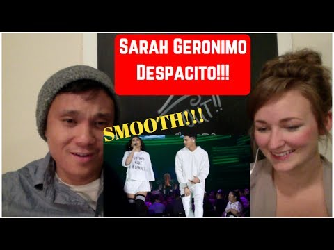 Sarah Geronimo and Iñigo Pascual [OFFCAM] Despacito REACTION