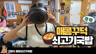 국밥충 고양 일산 쇠고기 국밥 유명한 그 곳! 한 뚝배…