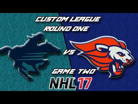 NHL 17 - Custom League - Calgary @ Baltimore Round 1 Game 2