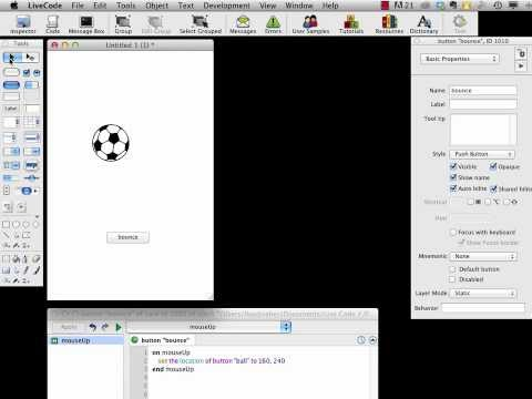 LiveCode First Project: Follow the Bouncing Ball