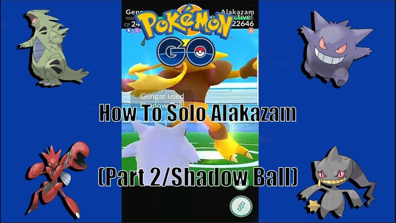 Pokemon Go Raid Boss Alakazam Guide/How To Solo Alakazam (Part 2 Confusion)  - YouTube