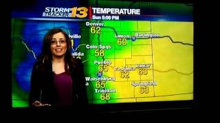KRDO news 13 weather woman cusses on air