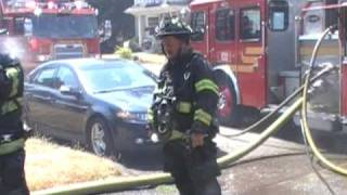 Seattle firefighters hosed down during hottest day ever
