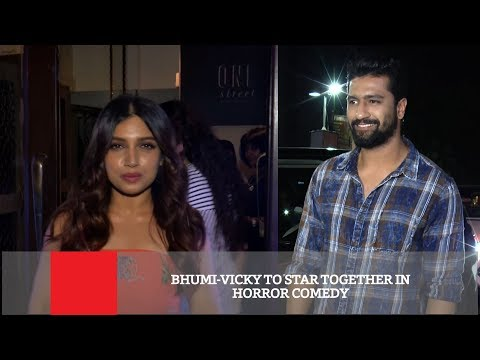 Bhumi Vicky To Star Together In Horror Comedy Mp3