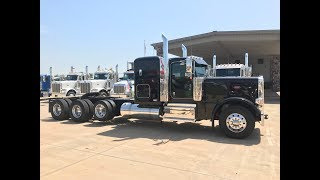 2019 389 Peterbilt Heavy Haul 4 speed auxiliary transmission