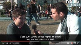 Easy French 24 - Qu'est-ce que tu veux faire quand tu seras grand? (I)
