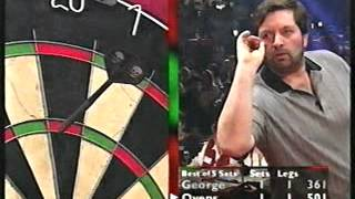 Bobby George Vs Denis Ovens Highlights