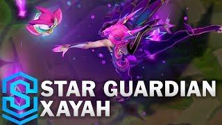 Star Guardian Xayah Skin Spotlight - Pre-Release - League of Legends