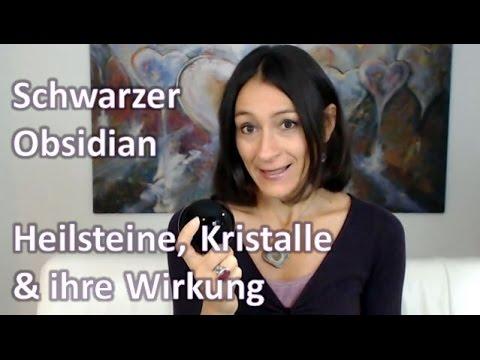 Heilsteine, Kristalle & ihre Wirkung - Schwarzer Obsidian