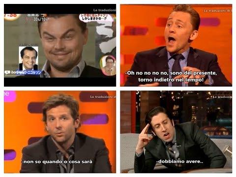 ATTORI IMITANO altri ATTORI! (Bradley Cooper, Tom Hiddleston, Leonardo DiCaprio..) streaming vf