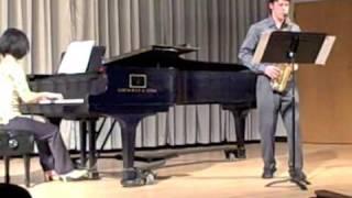 Movement 2: Handel Sonata, Op. 1, No. 13, arranged for Alto Saxophone and Piano