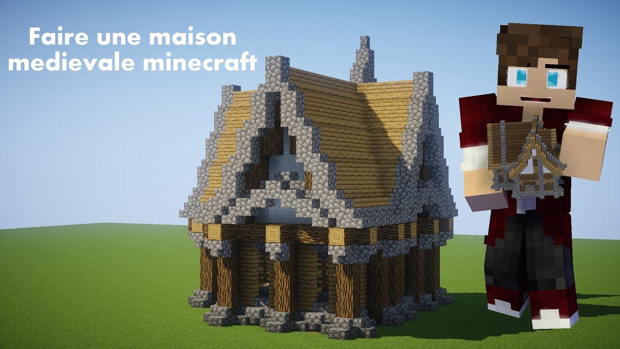Maison Medievale Minecraft Youtube