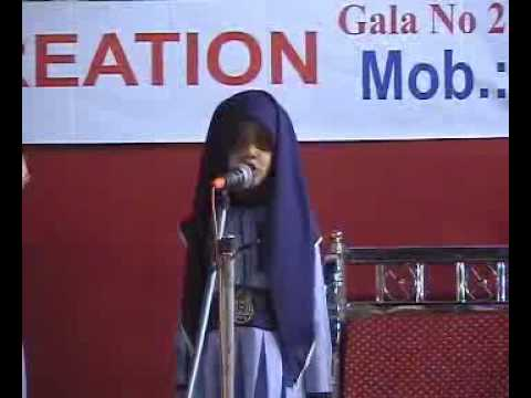 Farheen khan Speech