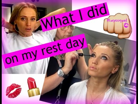 REST DAY AND HOW I SPENT MINE FILMING AN INTERVIEW ON FITNESS AT SKY NEWS