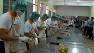 Xuất khẩu lao động Nhật Bản- Thi tuyển thực tập sinh đơn hàng thực phẩm 25/9/2016 Phần 1