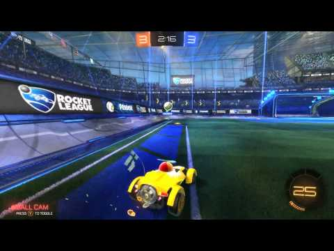 Rocket League #1 Kronovi vs. #2 Gibbs 1v1!