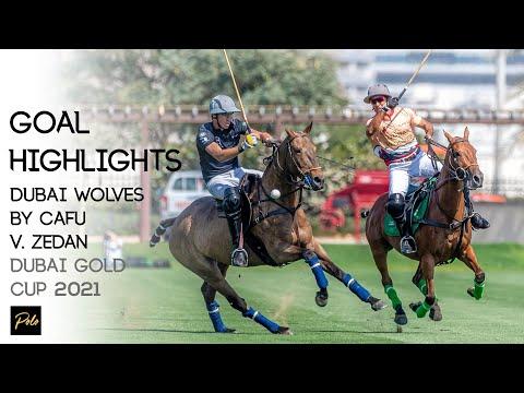 Dubai Wolves By Cafu vs Saudi Arabia's Zedan Polo | Best Goals Gold Cup 2021 | Dubai Polo Season