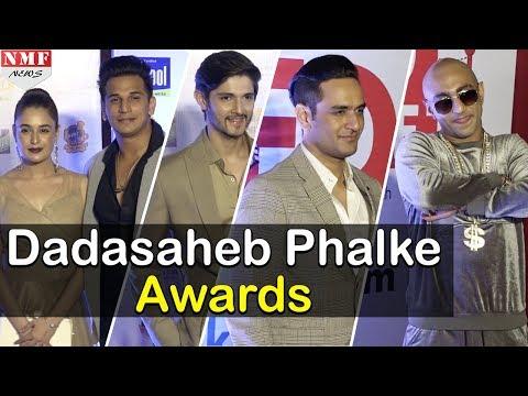 Bollywood Stars At Red Carpet Of Dadasaheb Phalke International Film Festival 2018