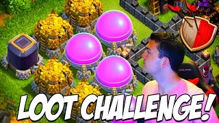 CLASH OF CLANS | 1 Minute to WIN IT Challenge! | Biggest Loot Wins the Game!