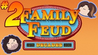 Family Feud Decades: Feud for Thought - PART 2 - Game Grumps VS