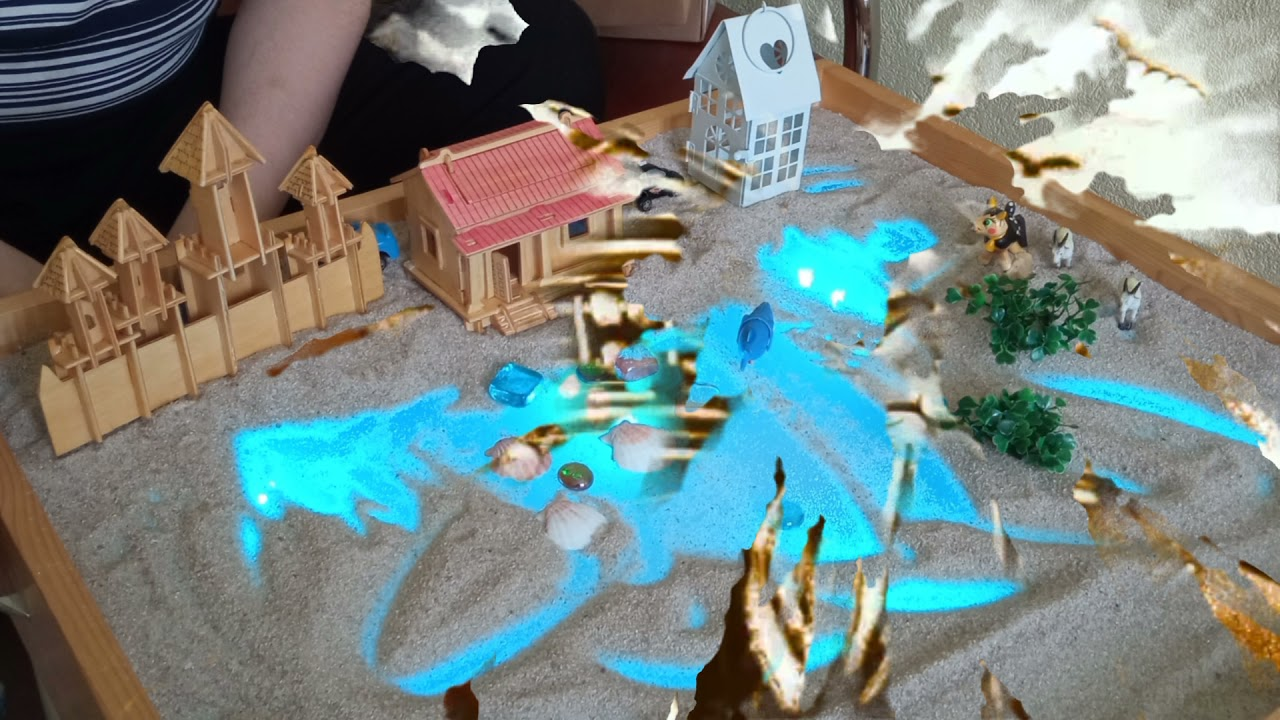 Сказкотерапия на песке