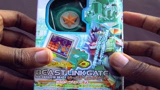 Megaman Beast Link Gate - Unboxing/Gameplay/Review