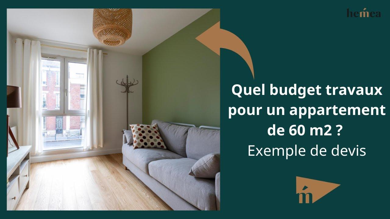 Prix Renovation D Un Appartement De 60 M Exemple Devis