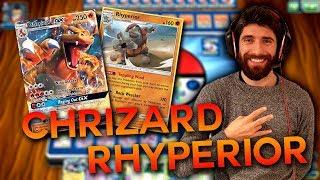 [STD] RHYPERIOR/CHARIZARD GX !! (Pokemon TCG Online) by iCaterpie