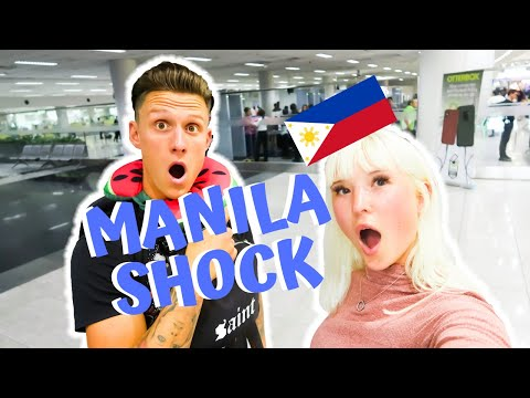 We're SHOCKED at Manila!!!! British couple finally arrive in
