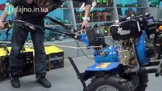 Дизельный мотоблок Кентавр 2081Д с электростартером: подробный обзор