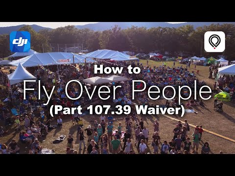 How to Legally Fly Over People - Part 107.39 Waiver with ParaZero SafeAir