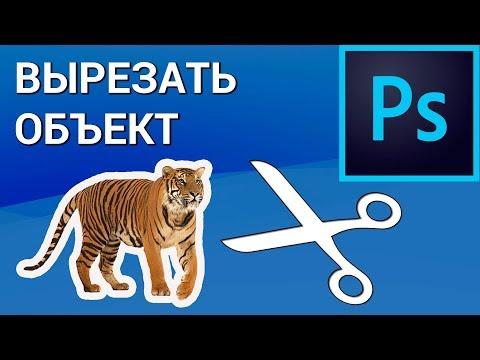 Как вырезать любой объект или человека в Photoshop? Перемещаем вырезанное изображение на другой фон