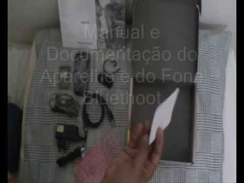 Unboxing Nokia 3600 Slide - Tirando o Nokia 3600 Slide da Caixa