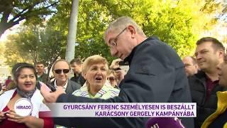 Gyurcsány Ferenc személyesen is beszállt Karácsony Gergely kampányába