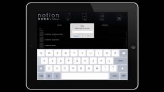 Notion iOS: iCloud