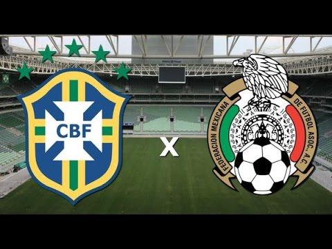 Amistoso  1993: Brasil  x   México  ( Friendly Match 1993: Brazil vs Mexico)