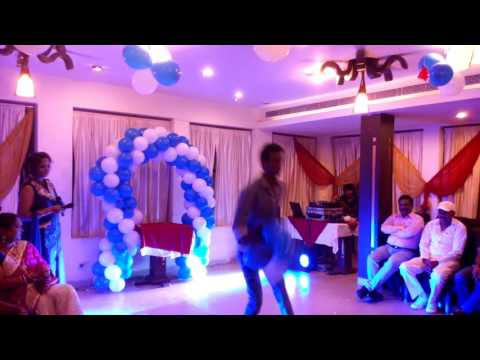 Performance on JAB DIL MILE in party