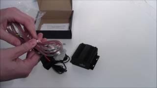 видео Влагозащищенный усилитель для мотоцикла/квадроцикла/снегохода AVIS AVS115 (под встройку)