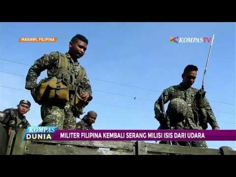 Militer Filipina Kembali Serang Milisi ISIS dari Udara