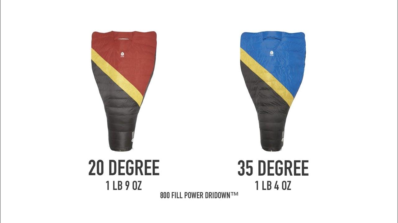 20 Degree Down Sierra Designs Nitro 800 Quilt