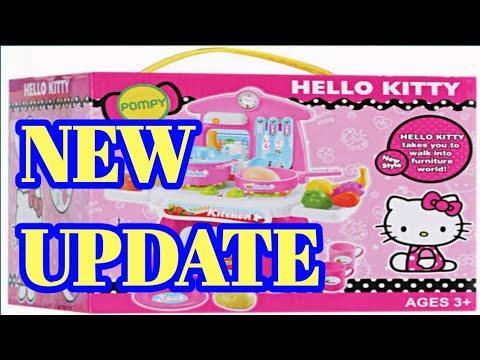 Hello Kitty Lunch Box Gameplay 3 Permainan Game Anak Masak Masakan Youtube