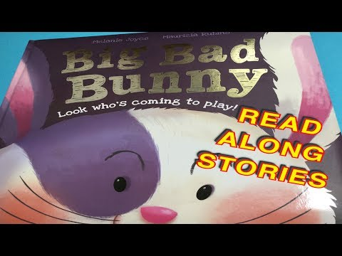 Read Along BIG BAD BUNNY Storytime Children's book | read aloud