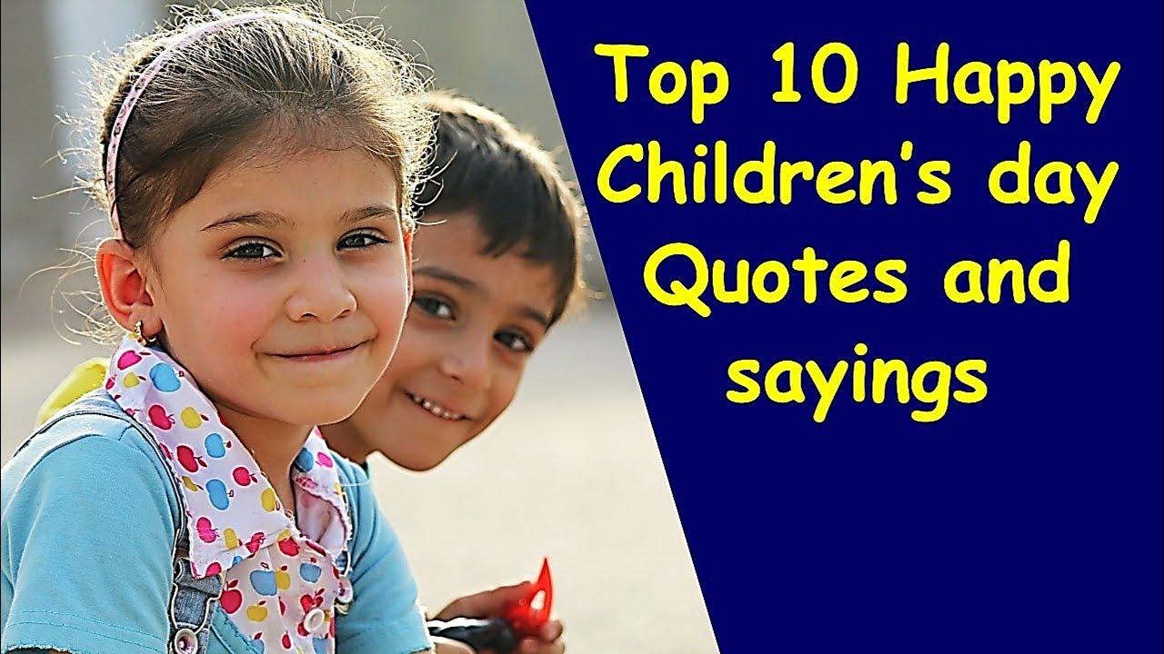 top 10 happy children