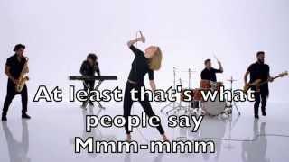 Taylor Swift - Shake it Off Karaoke Cover Backing Track + Lyrics Acoustic Instrumental