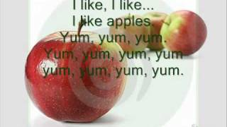 I LIKE FOOD SONG   Year 1